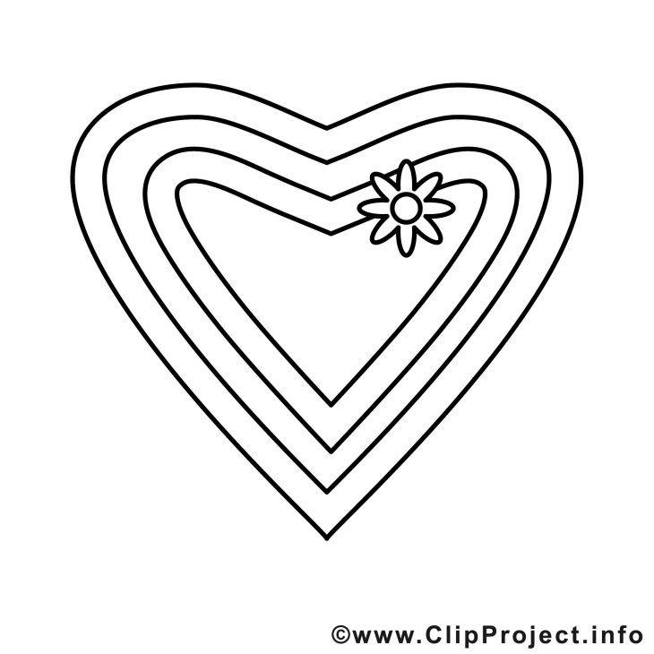 Ausmalbild Herz – Ausmalbilder Für Kinder | Ausmalbilder | Pinterest ...