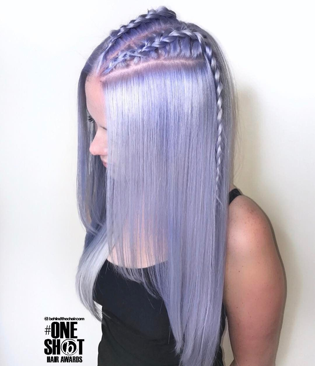 So You Know That Color When You Leave Purple Shampoo On For Too Long Yes I Want That I Ve Got Just Light Purple Hair Hair Inspiration Color Icy Blonde Hair