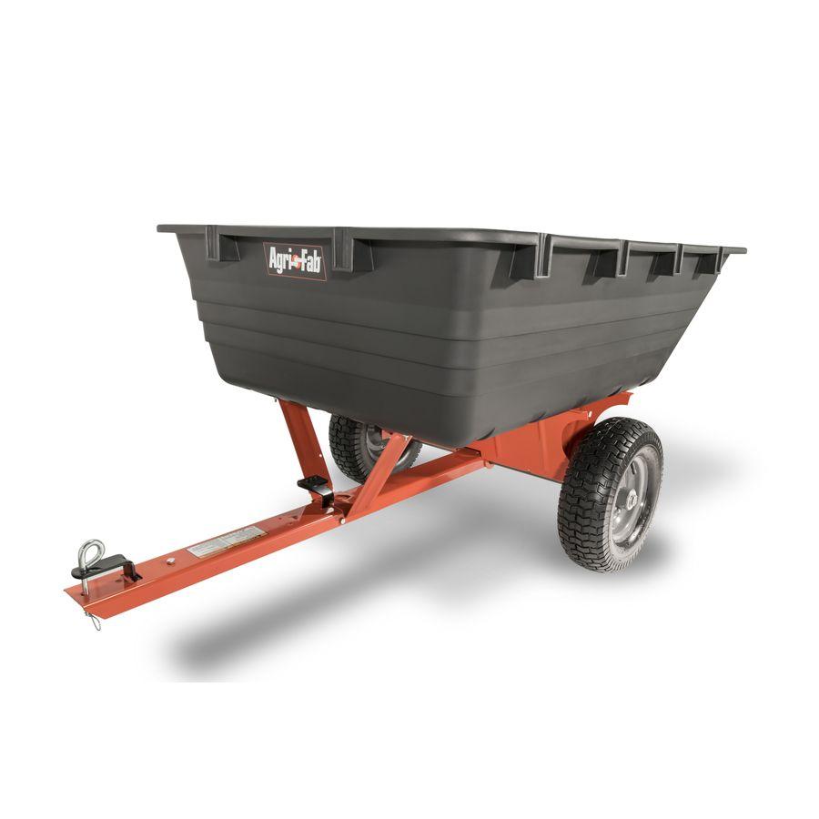 Agri Fab 17 Cu Ft Poly Dump Cart 45 0519 In 2020 Wheelbarrow Zero Turn Lawn Mowers Garden Cart