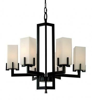 6-Light Chandelier : LV99006H-BZ | Park Lighting