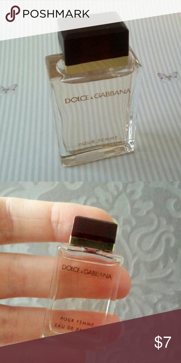 01f17a36355d25 Dolce   Gabbana pour femme eau de parfum mini   Minis and Customer ...