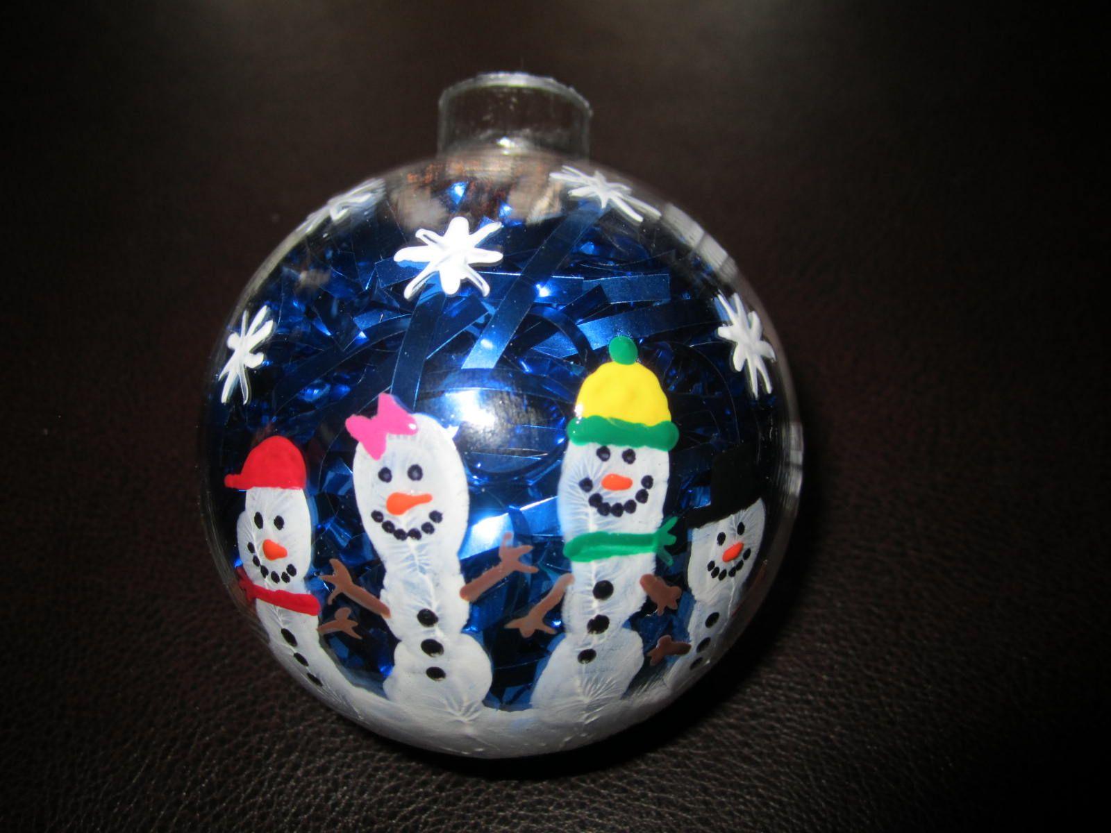 Snowman Handprint Ornaments Preschool Christmas Gifts Christmas Kindergarten Preschool Christmas Crafts