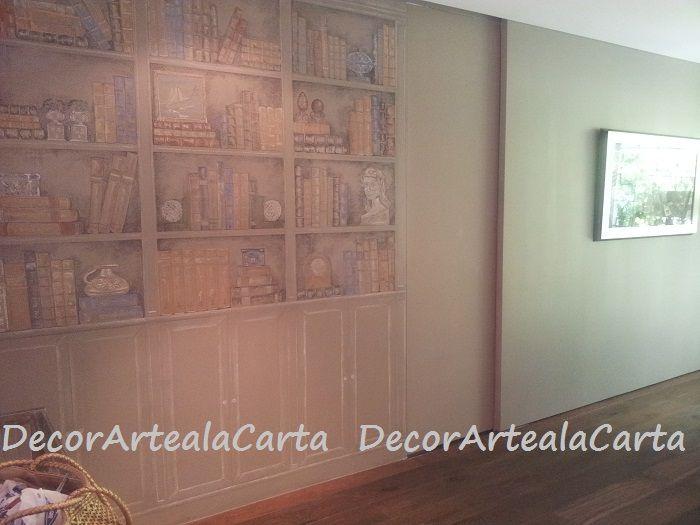 Técnica pastel sobre pared/ Coloured chalks on the walls