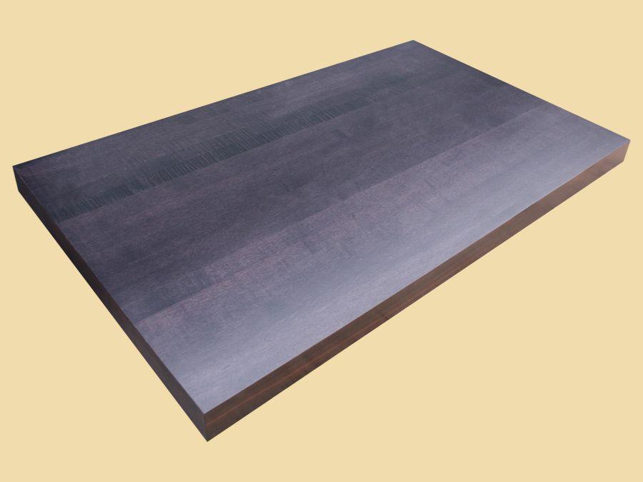 Black forest maple butcher block countertop adding a