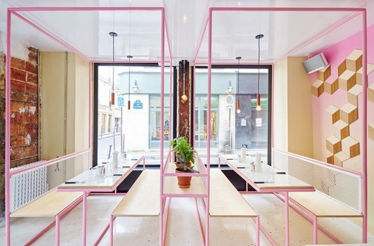Ideas To Steal From Five Of Parisu0027 Most Stylish Restaurants