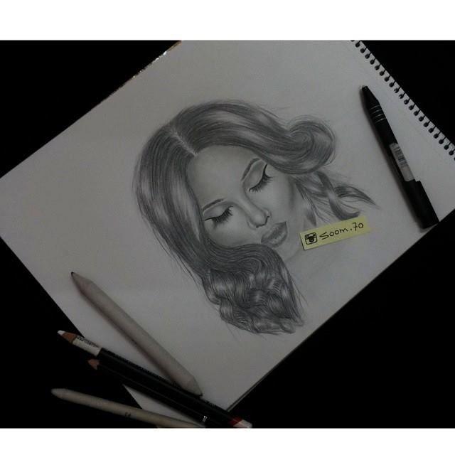 رسم امرأة Soom 70 Male Sketch Female Sketch Male