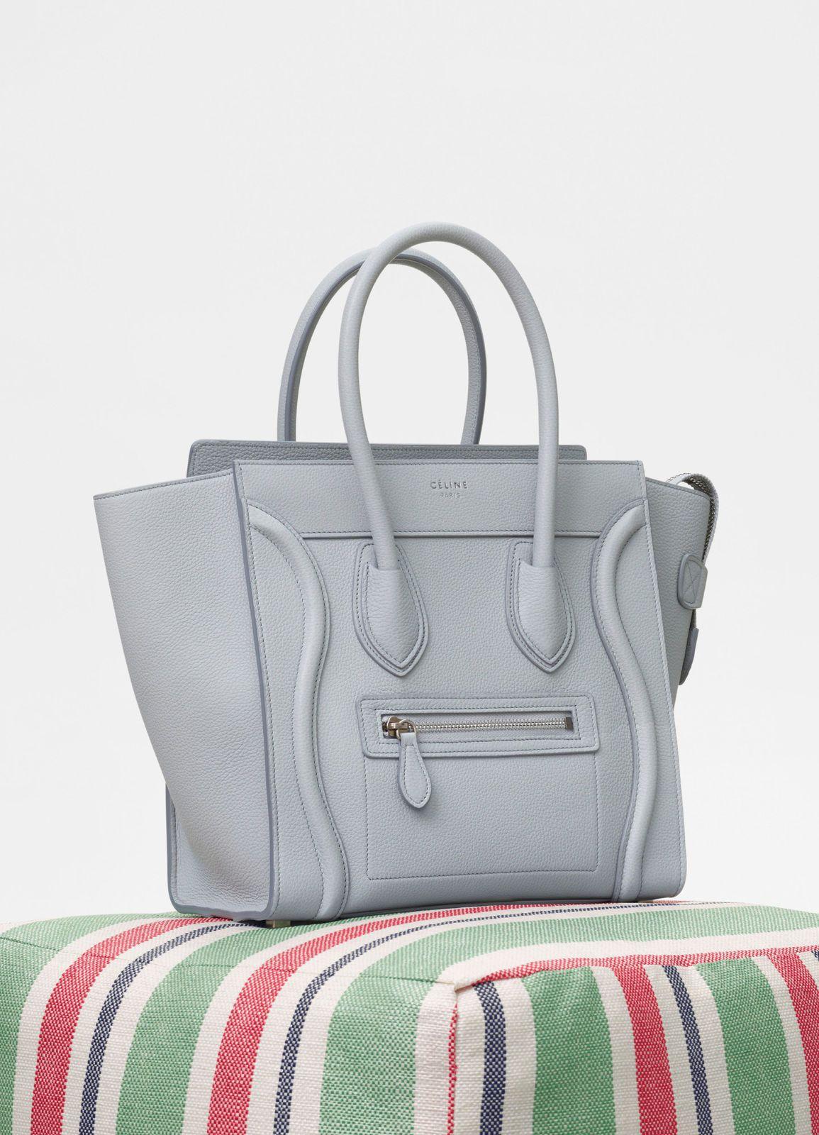 b78d2ba694a Micro Luggage handbag in baby drummed calfskin   CÉLINE   B A G bags ...