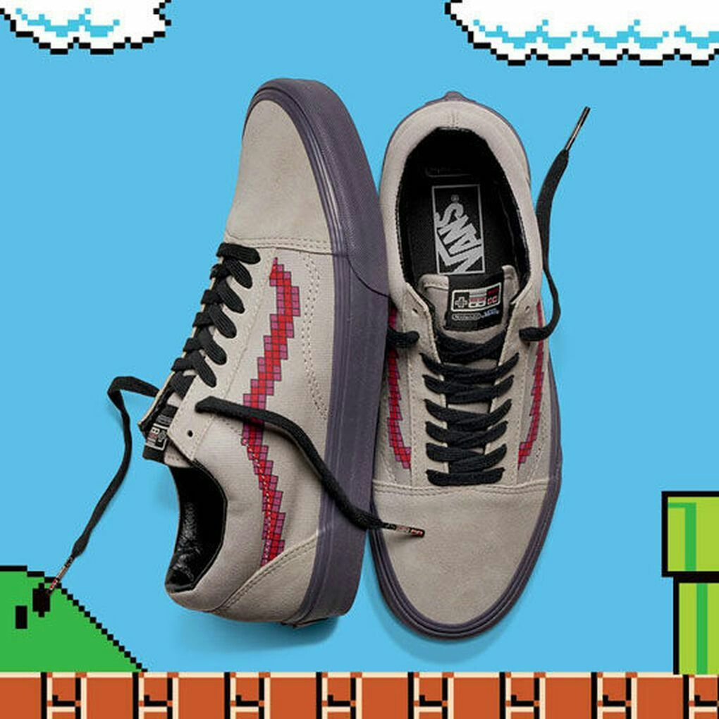 5044cfea80c Vans Old Skool Nintendo  Game Over  Limited Edition  vans  oldskool   Nintendo  gameover