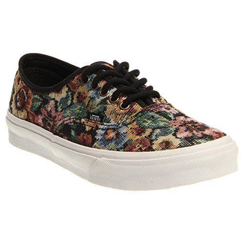 Vans Unisex Tapestry Floral Authentic Slim Sneakers, Black (US Men's 4 D Medium/ Women's 5.5 B Medium) Vans http://www.amazon.com/dp/B00K006Y8W/ref=cm_sw_r_pi_dp_-bRQwb1NJRTA3
