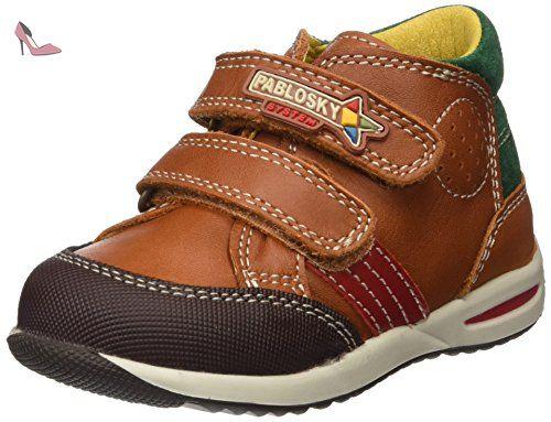 Chaussures Pablosky marron garçon i3pq133GO3