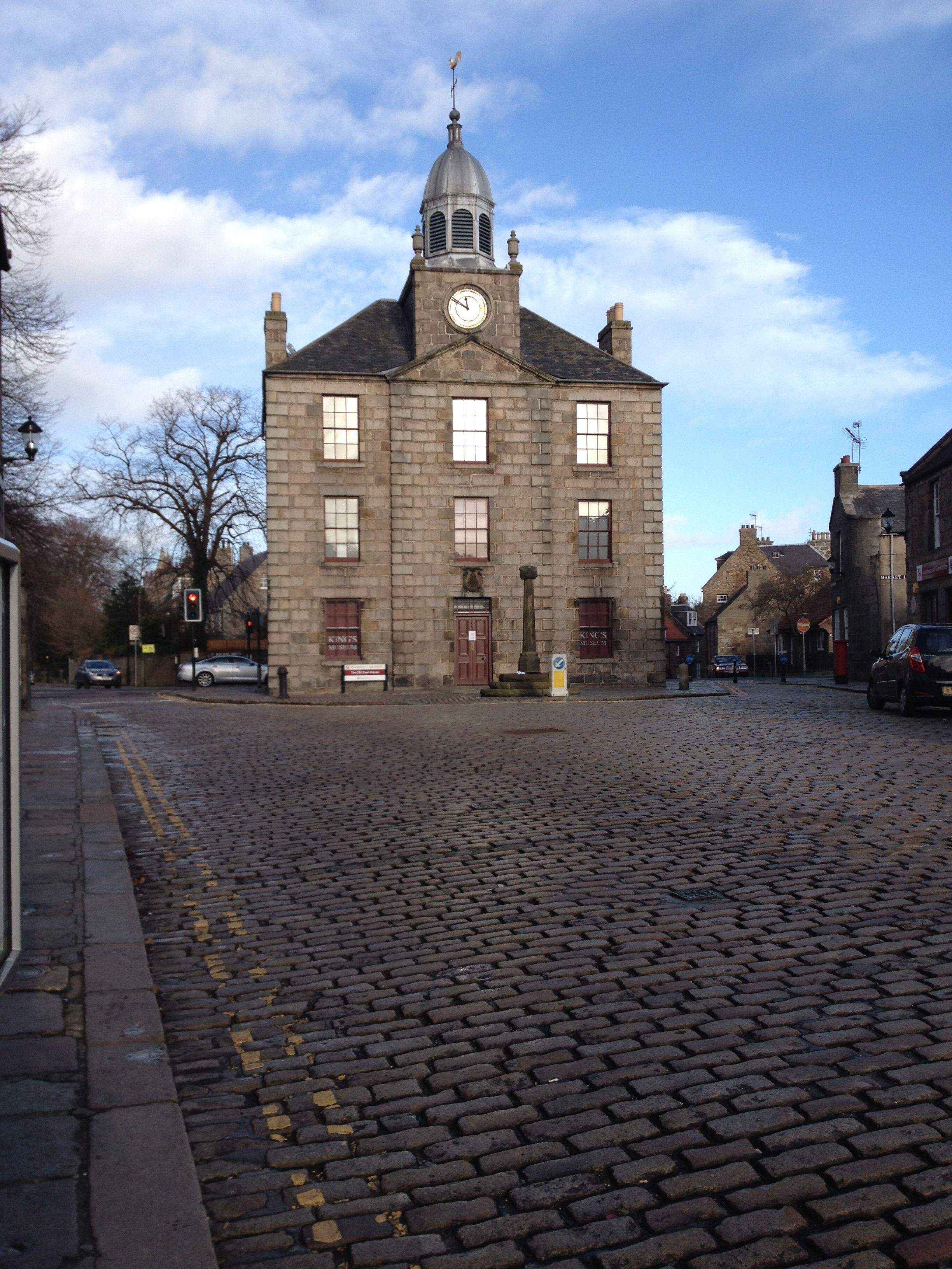 Old Aberdeen Aberdeen Scotland City By The Sea Granite City