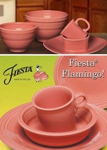 Fiesta® Dinnerware and Dishes New and Retired Colors Fiesta® made by Homer Laughlin China Company featured by DinnerwareUSA I NEED THIS PLACE SETTING ... & Fiesta® Dinnerware and Dishes New and Retired Colors Fiesta® made ...