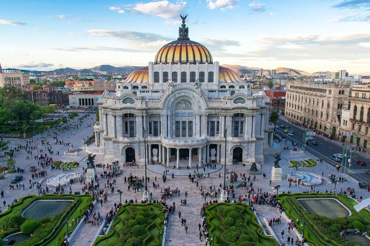 Palacio De Bellas Artes Mexico City Mexico City Travel Mexico Travel Visiting Mexico City
