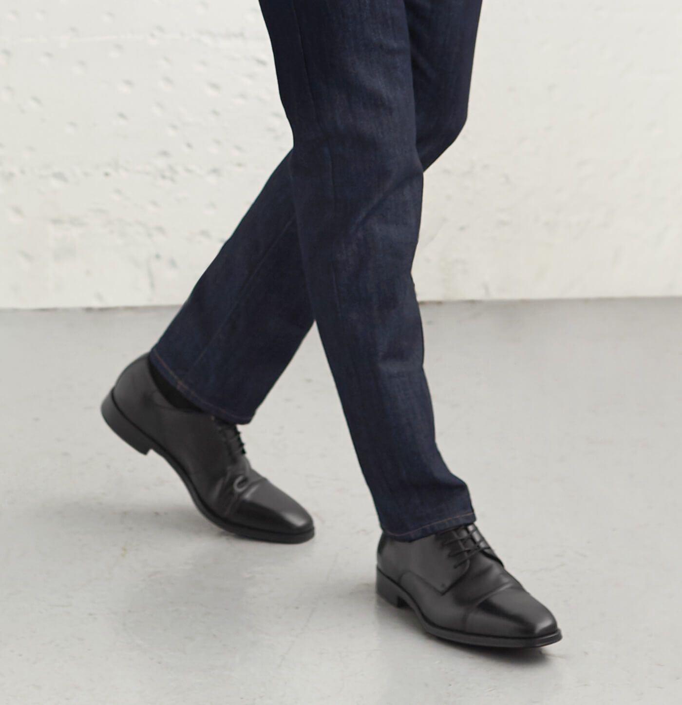 The Right Way To Pair Jeans With Shoes Stitch Fix Men Dress Shoes With Jeans Black Casual Dress Shoes Casual Dress Shoes [ 1446 x 1400 Pixel ]