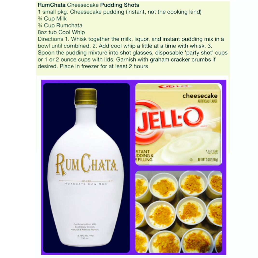 Make Jell-O Shots With Rum Chata