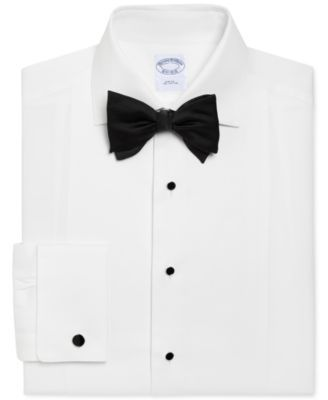 Men/'s Brooks Brothers Regent Dress Shirt White Cotton
