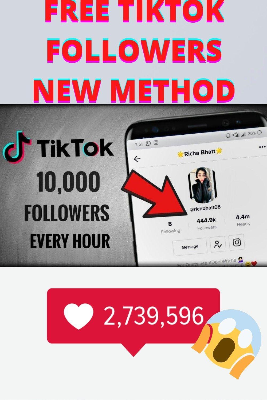 How To Get Free Tiktok Followers Free Followers On Instagram How To Get Followers Free Followers
