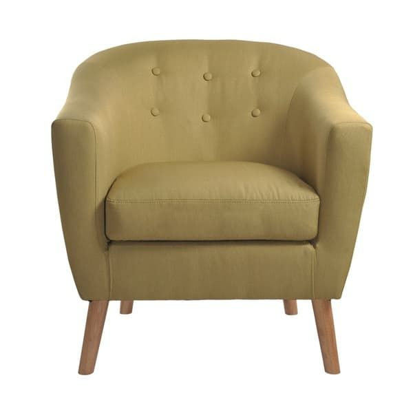 nathaniel home jason mid century green club chair jason green