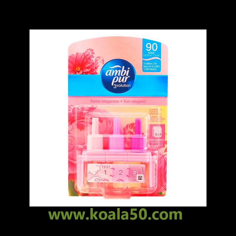 Ambi Pur - 3VOLUTION ambientador recambio flores rosas 21 ml - 6,13 €   Déjate sorprender por 3VOLUTION ambientador recambio flores rosas 21 ml (100 % original), un exclusivo perfume unisex ideal para hombres y mujeres. ¡Descubre los productos Ambi Pur 100 %...  http://www.koala50.com/limpieza-aspiracion-planchado/3volution-ambientador-recambio-flores-rosas-21-ml