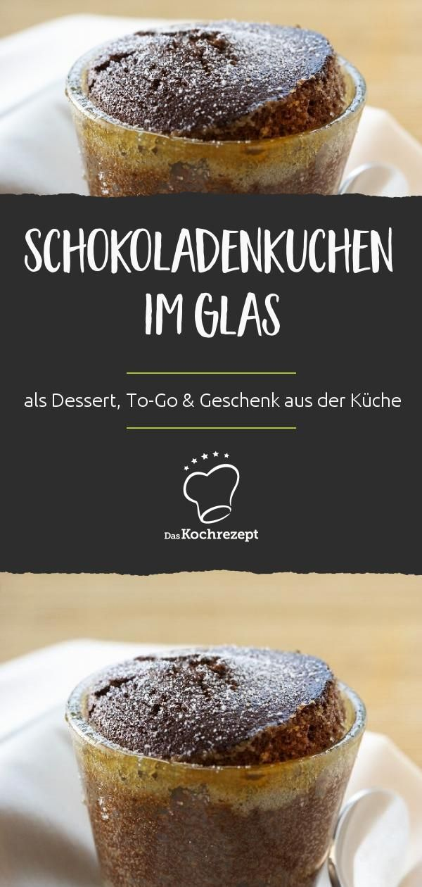 schokoladenkuchen im glas rezept weihnachten dessert. Black Bedroom Furniture Sets. Home Design Ideas