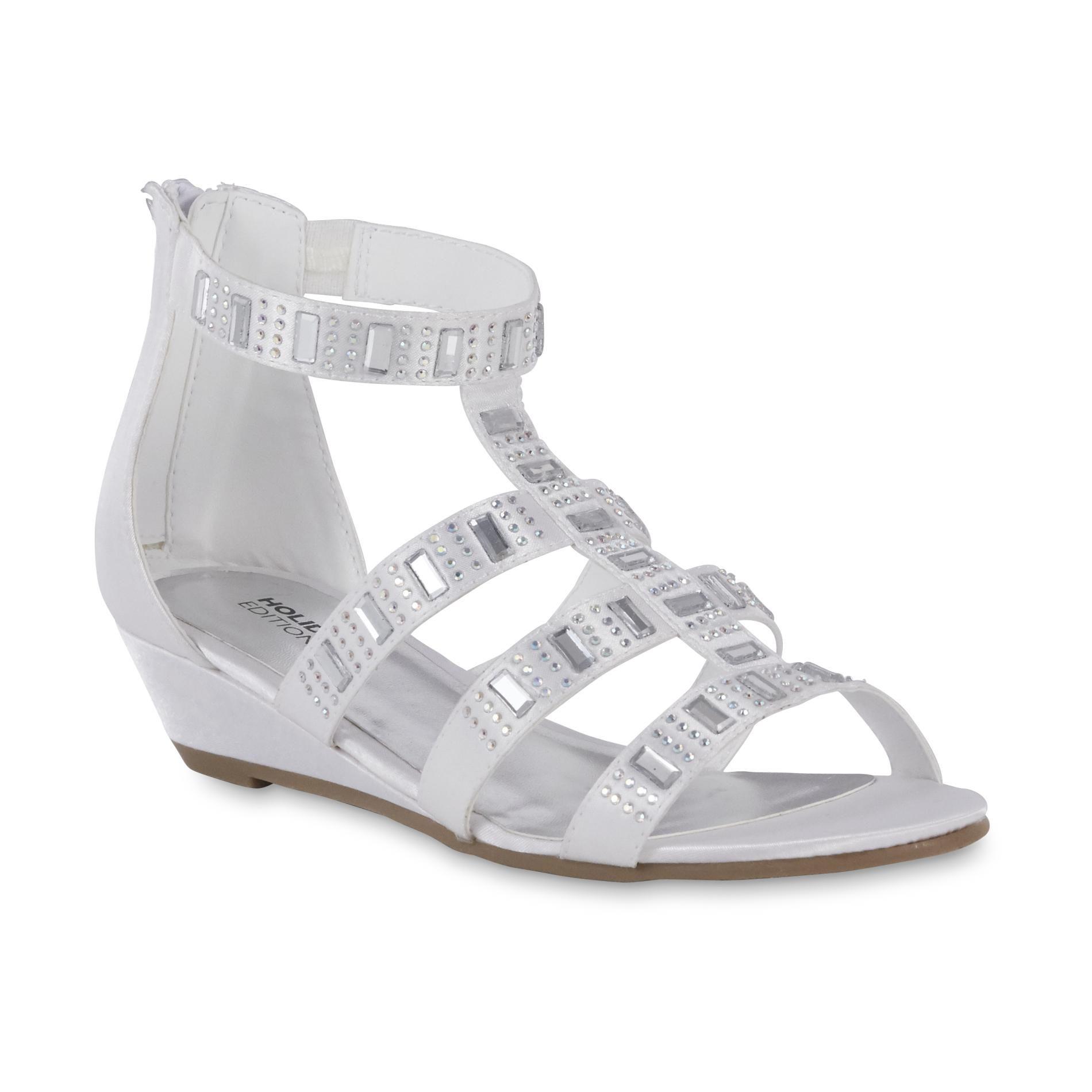 6fbd13c72be122 Holiday Editions Girls  Kari Gladiator Wedge Sandal