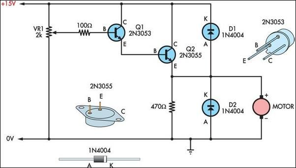 Two basic motor speed controllers circuit project | Electronic ...
