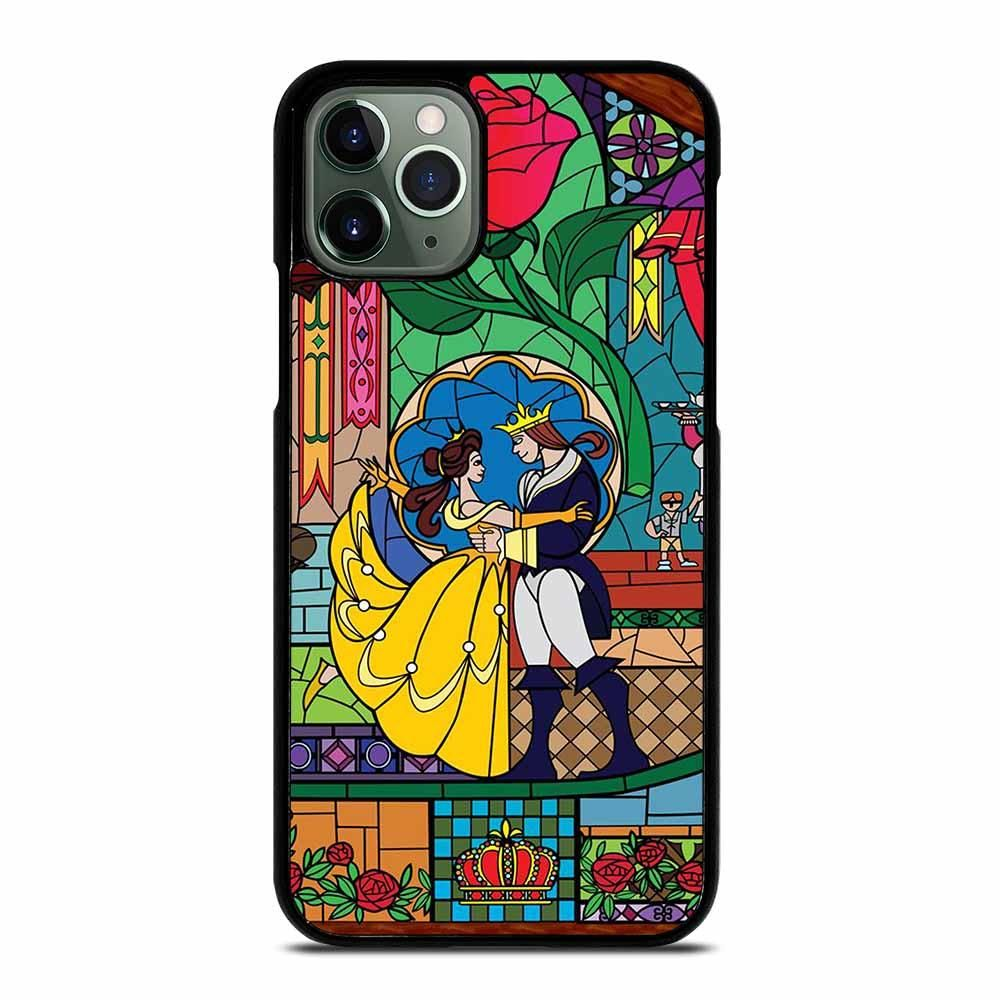 Beauty and the beast icon iphone 11 pro max case
