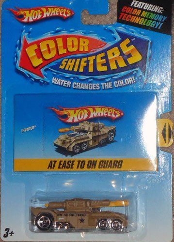 hot wheels color shifters invader at ease to on guard tan to rh pinterest com