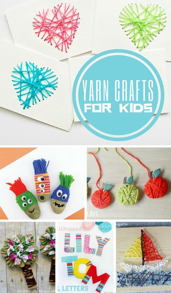 Yarn Crafts For Kids Craft For Kids