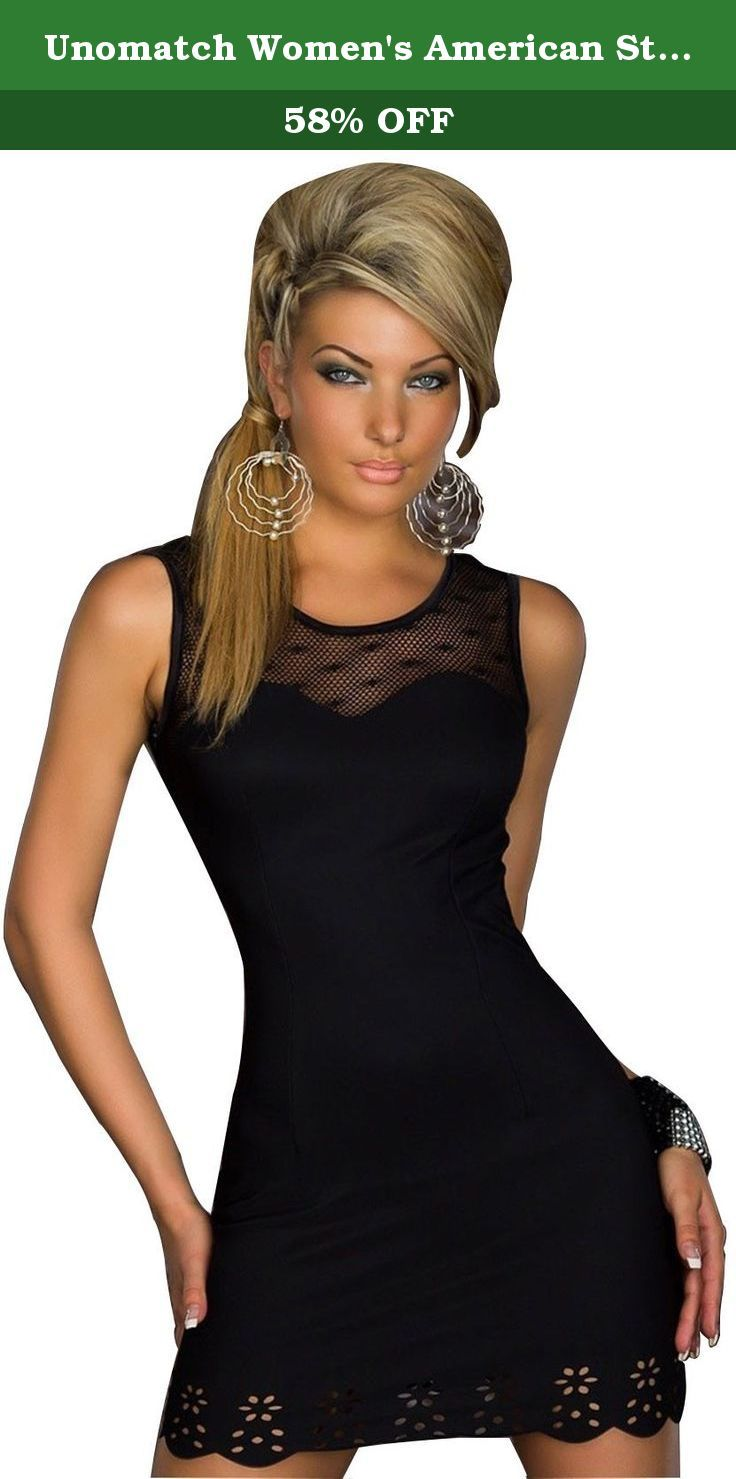 03b099aef6b Unomatch Women s American Style Club Clothing Flower Lace Lingerie Black  (FREE SIZE