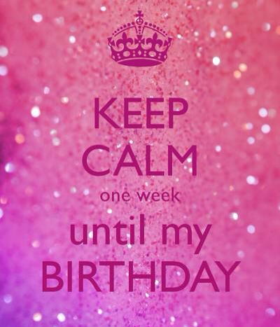 One Week Till My Birthday June 22nd Cancerseason With Images