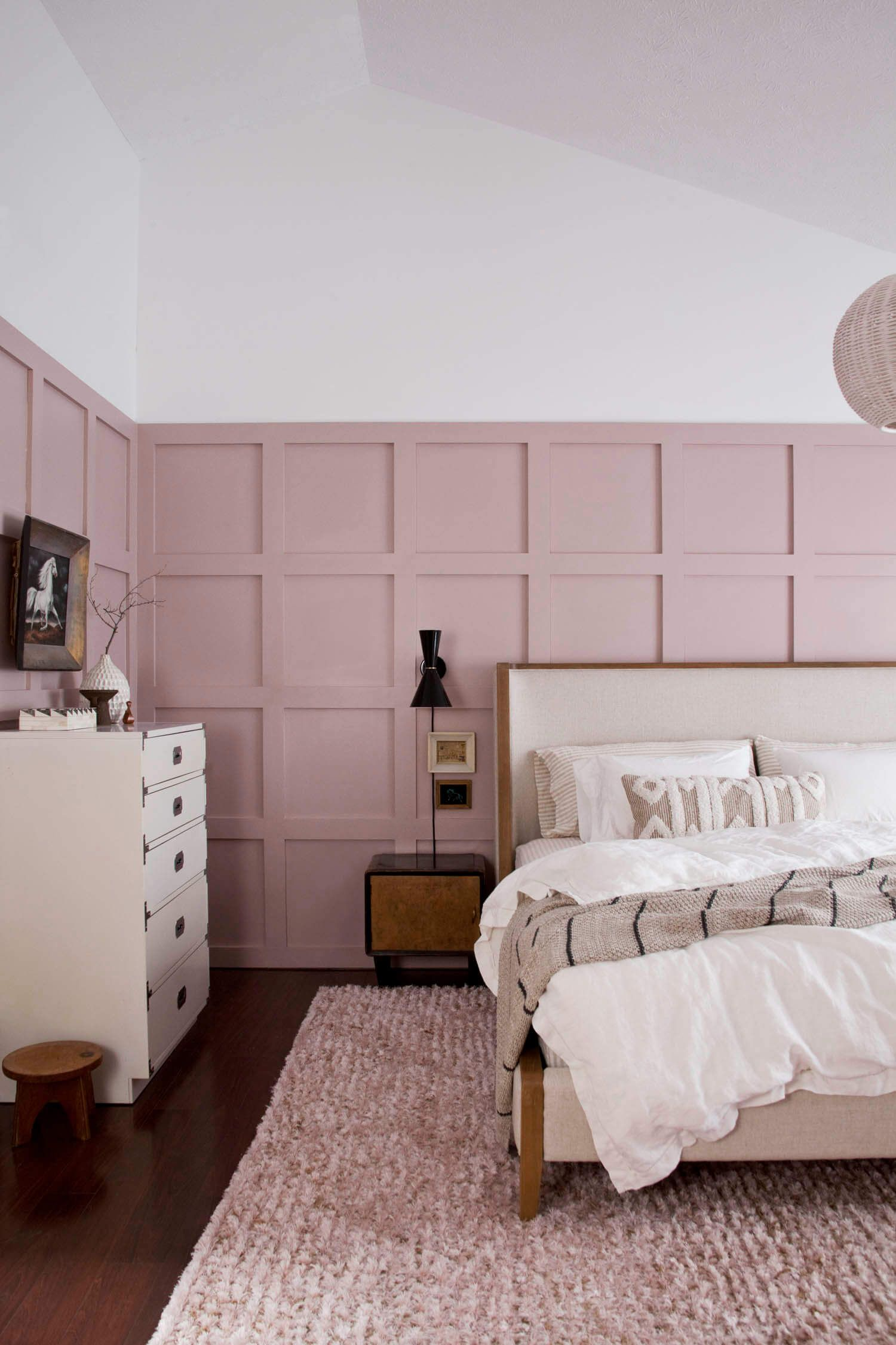 Board and Batten Bedroom Makeover with Arhaus