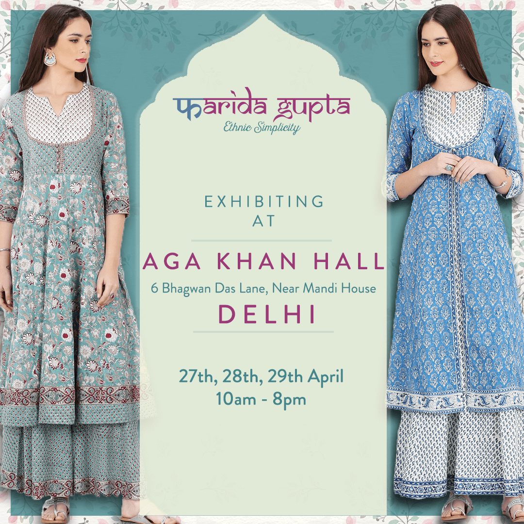 aaa15437c5 Farida Gupta exhibiting hand-embroidered kurtas