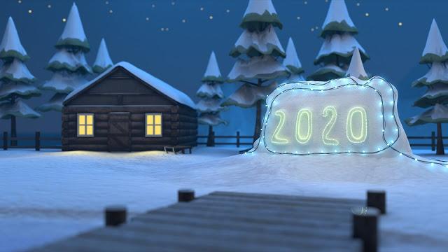 خلفيات السنة الجديدة 2020 عالية الدقة مداد الجليد Happy New Year Images Happy New Year Wallpaper New Year Images