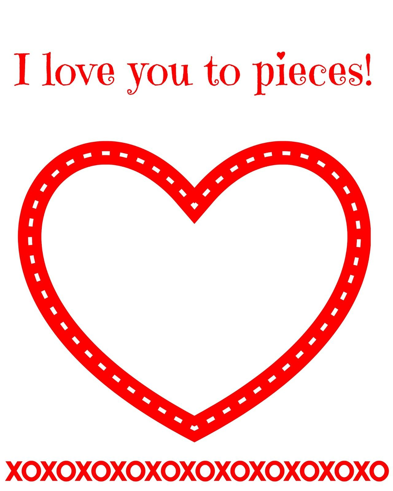 Image Result For I Love You To Pieces