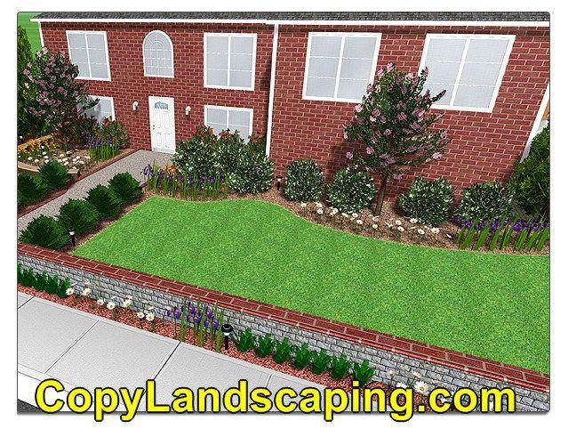 Amazing Xeric Landscape Design Home landscaping Pinterest - gartenplanung beispiele kostenlos
