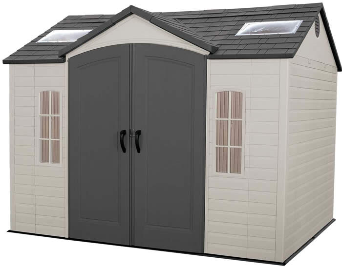 Best Barns Meadowbrook 16x10 Wood Storage Shed Kit Storage Shed Kits Lifetime Storage Sheds Outdoor Storage Sheds