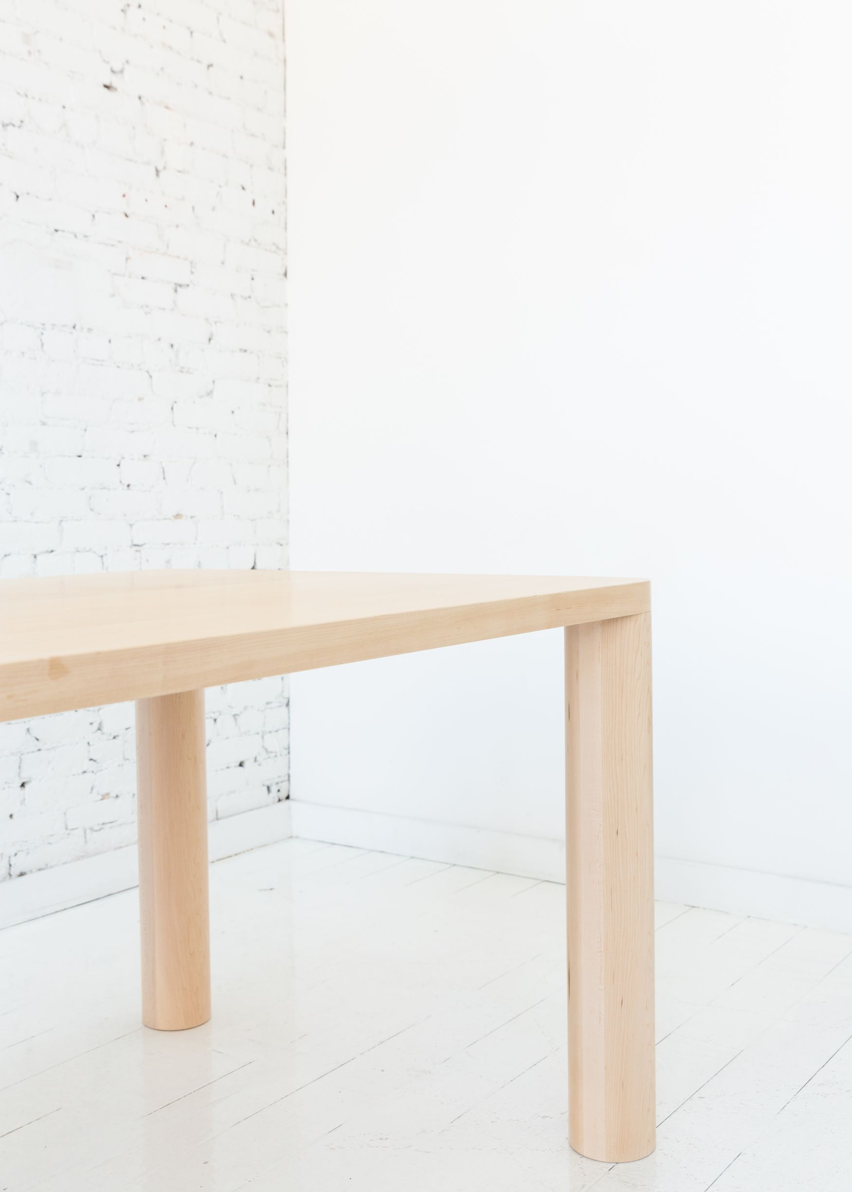 column dining table minimalist furniture dining table design rh pinterest com