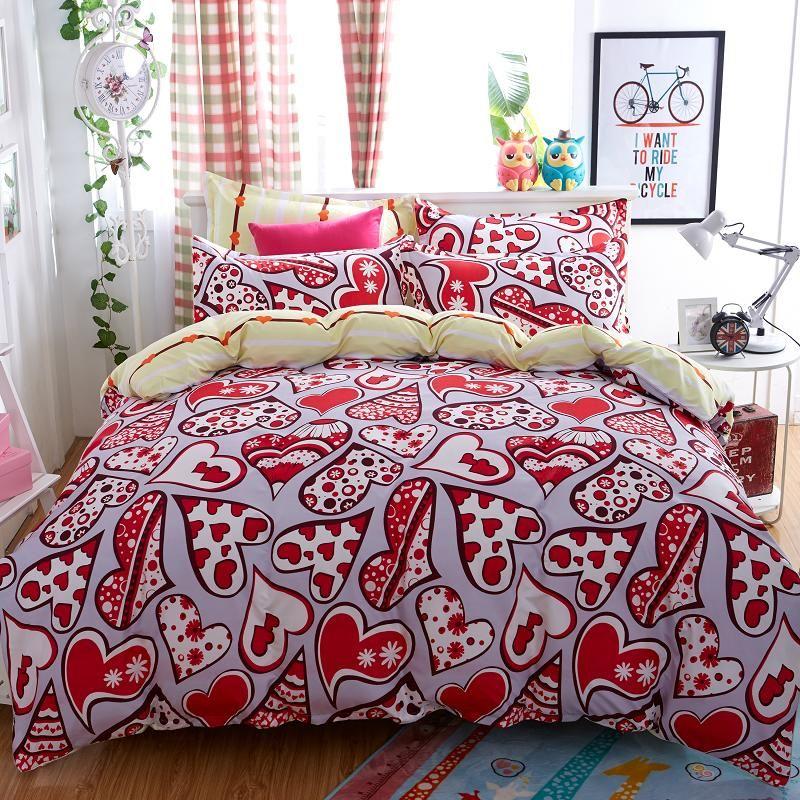 Home Textileslove language style bedding sets 34Pcs