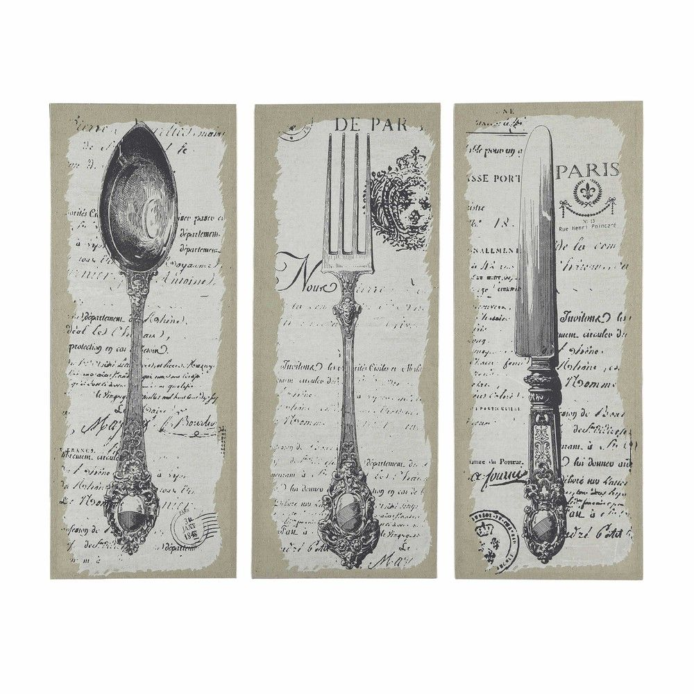 St Florent Triptych Of 3 Cutlery Wish List Pinterest