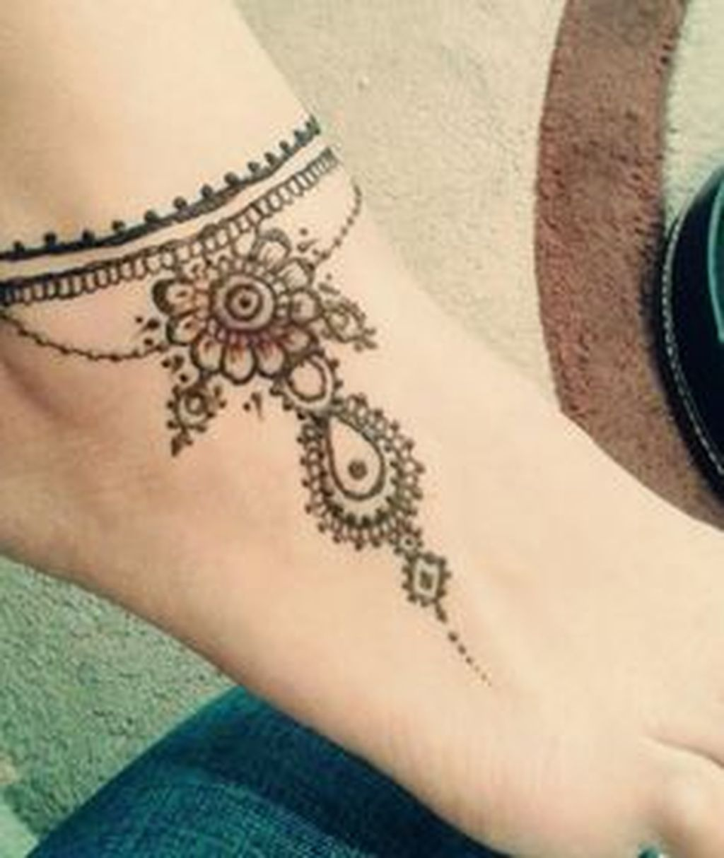 Nice beautiful ankle bracelet design ideas for women more at