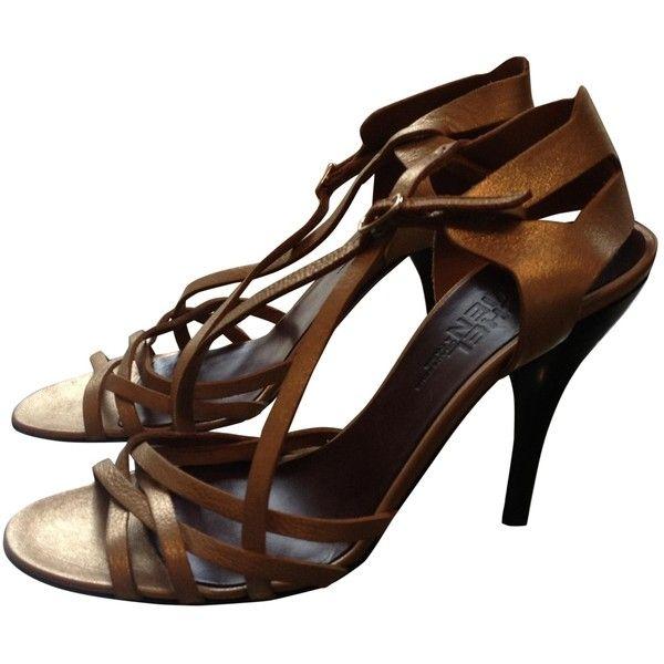 Pre-owned - Leather sandals Michel Vivien LTdMax