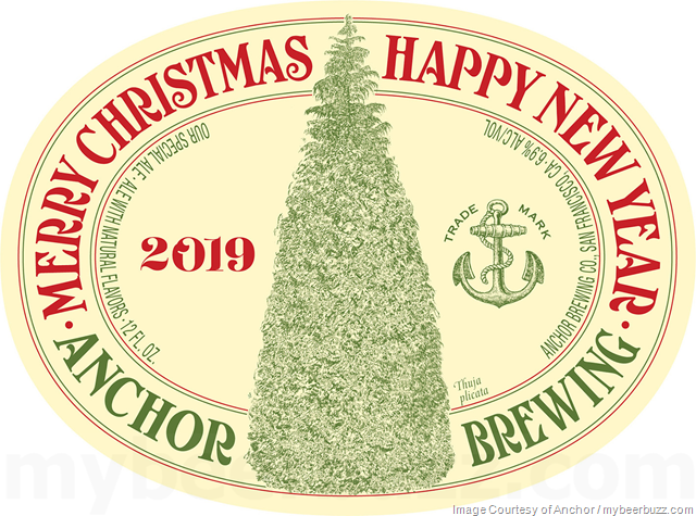 Anchor Brewing Reveals 2019 Our Special Ale Merry