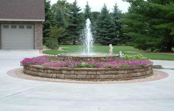 circular driveway country home design decorbold 4106 in 2019 rh pinterest com