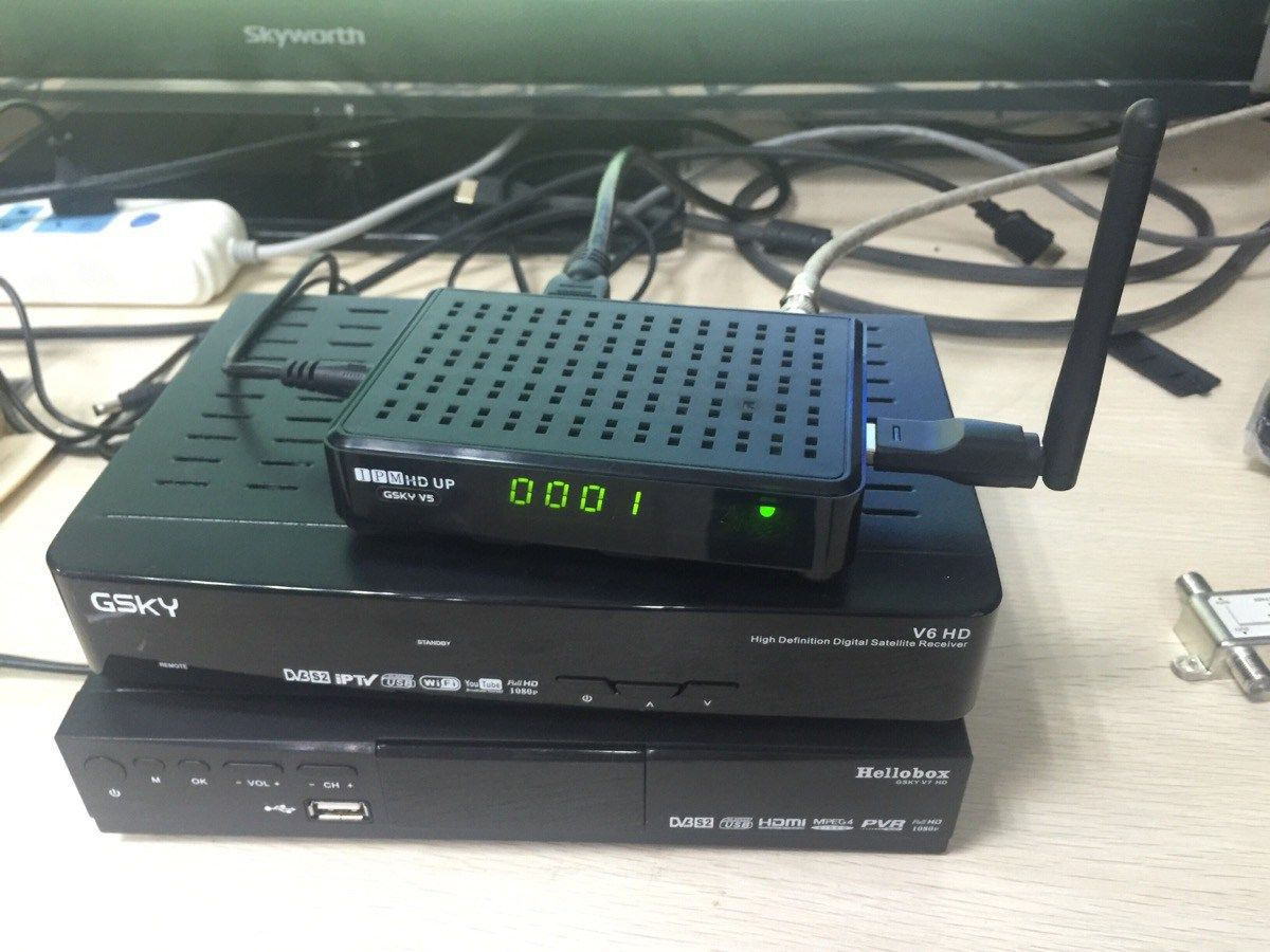 Hellobox V5 HD DVB-S2 Satellite Receiver multifunction FTA