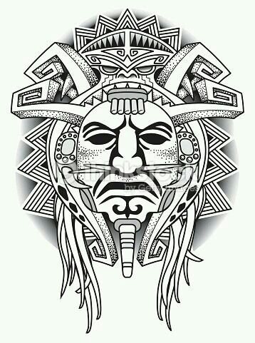 Pin de Erkan Akçadağ en Tattoos | Pinterest | Tatuajes, Azteca y ...