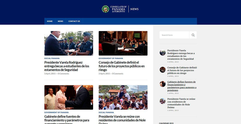 Pin on Sitio web de Consulado General de Panamá en Toronto