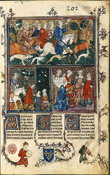 Bnf La Legende Du Roi Arthur Roi Arthur Musique Medievale Legende