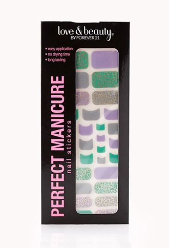 Spot-On Nail Stickers | FOREVER21 - 1000089728   #ForeverHoliday
