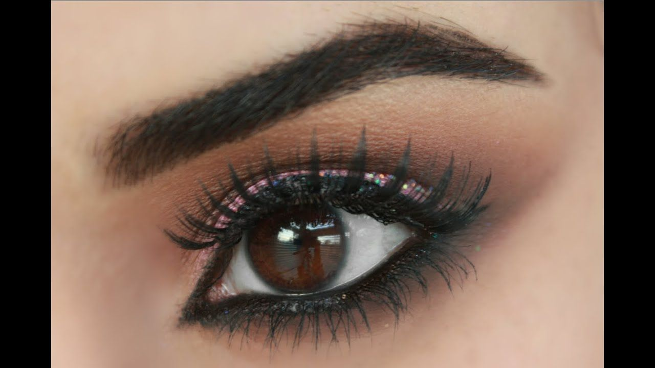 How to make brown eyes pop brown smokey eye brown